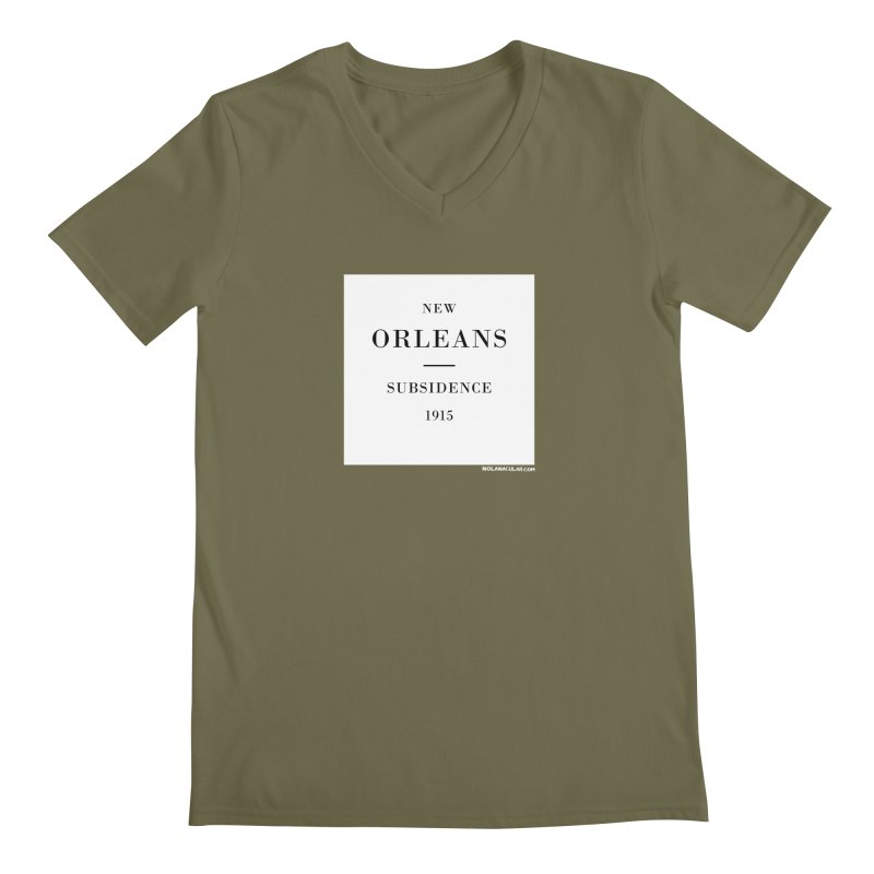 New Orleans - Subsidence Men's Regular V-Neck by NOLA 'Nacular's Shop