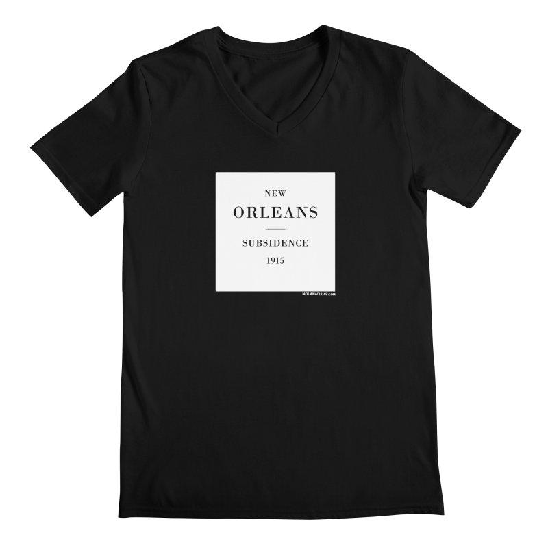 New Orleans - Subsidence Men's Regular V-Neck by NOLA 'Nacular's Shop