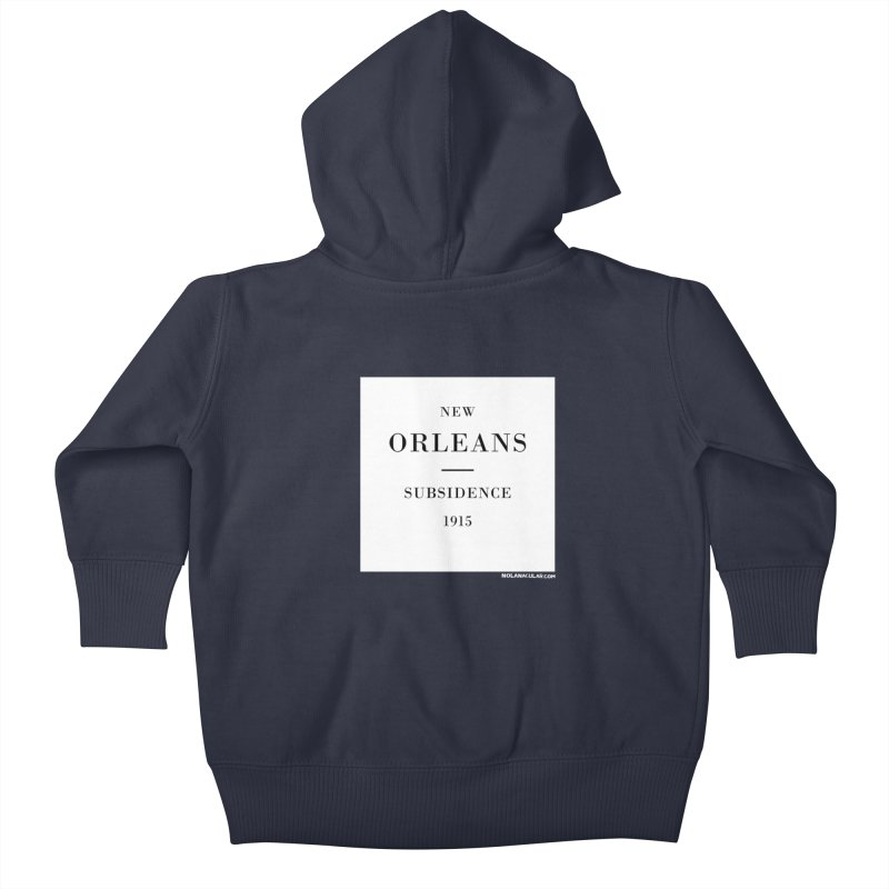 New Orleans - Subsidence Kids Baby Zip-Up Hoody by NOLA 'Nacular's Shop