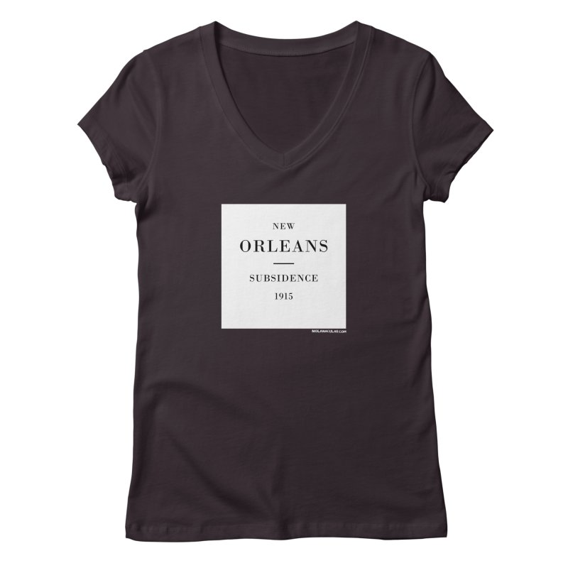 New Orleans - Subsidence Women's Regular V-Neck by NOLA 'Nacular's Shop