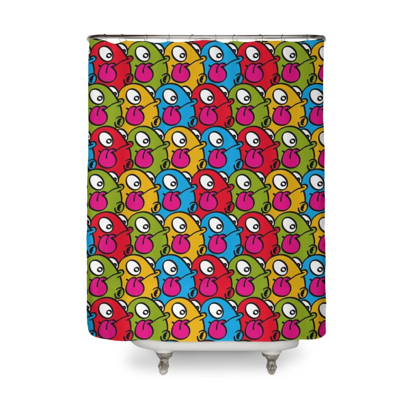Let's go Bump all over!!! Home Shower Curtain by nolart's Artist Shop