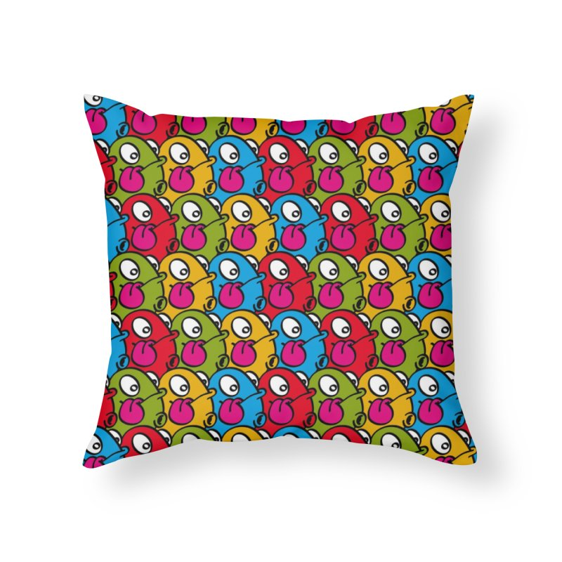 Let's go Bump all over!!! Home Throw Pillow by nolart's Artist Shop
