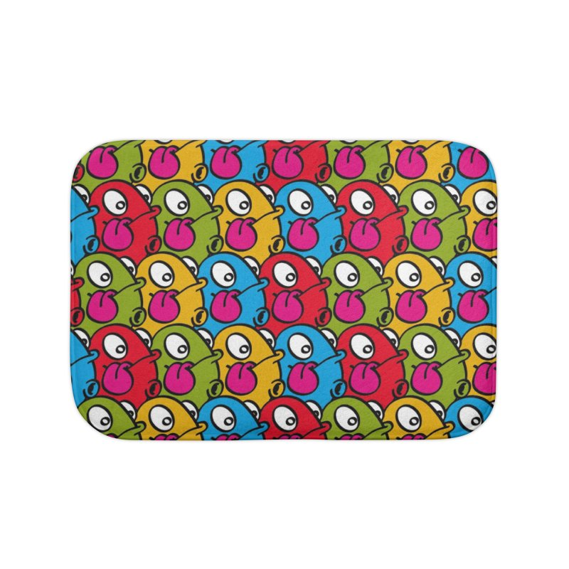 Let's go Bump all over!!! Home Bath Mat by nolart's Artist Shop
