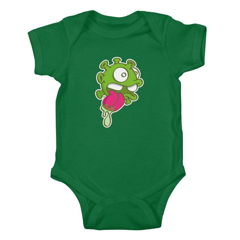 Corona Slime Kids Baby Bodysuit by nolart's Artist Shop