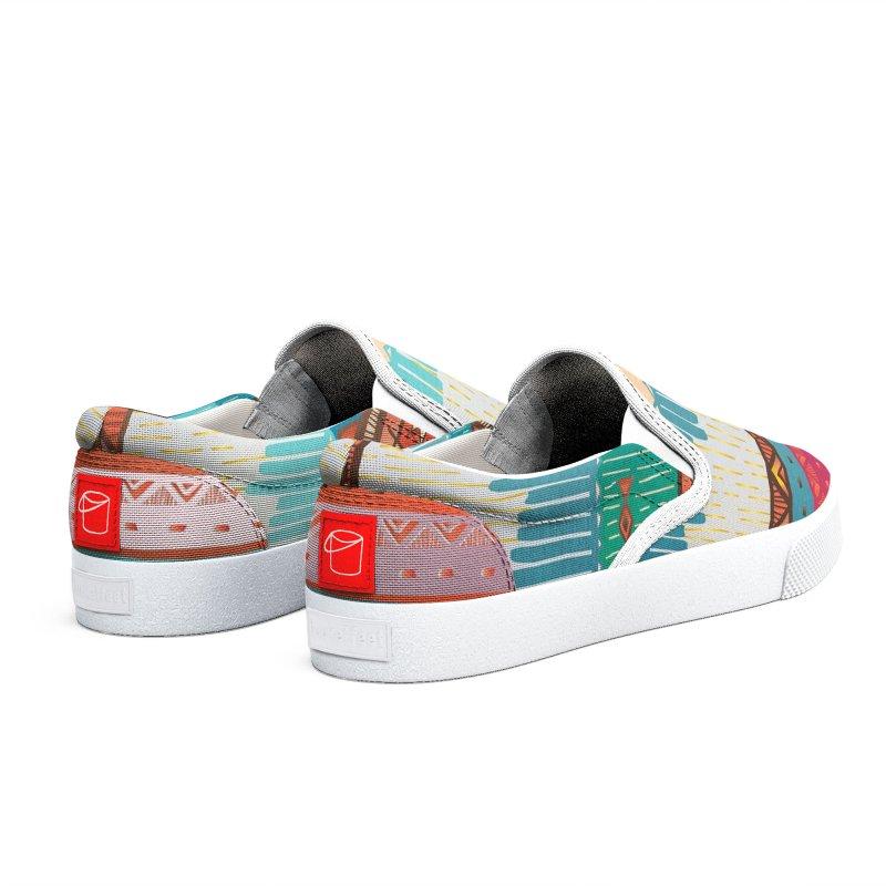 """The colors continent """"ÁFRICA"""" Men's Shoes by nomadfullprints Artist Shop"""