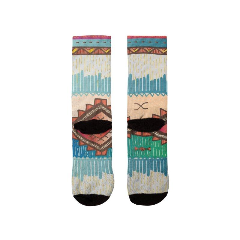 "The colors continent ""ÁFRICA"" Women's Socks by nomadfullprints Artist Shop"