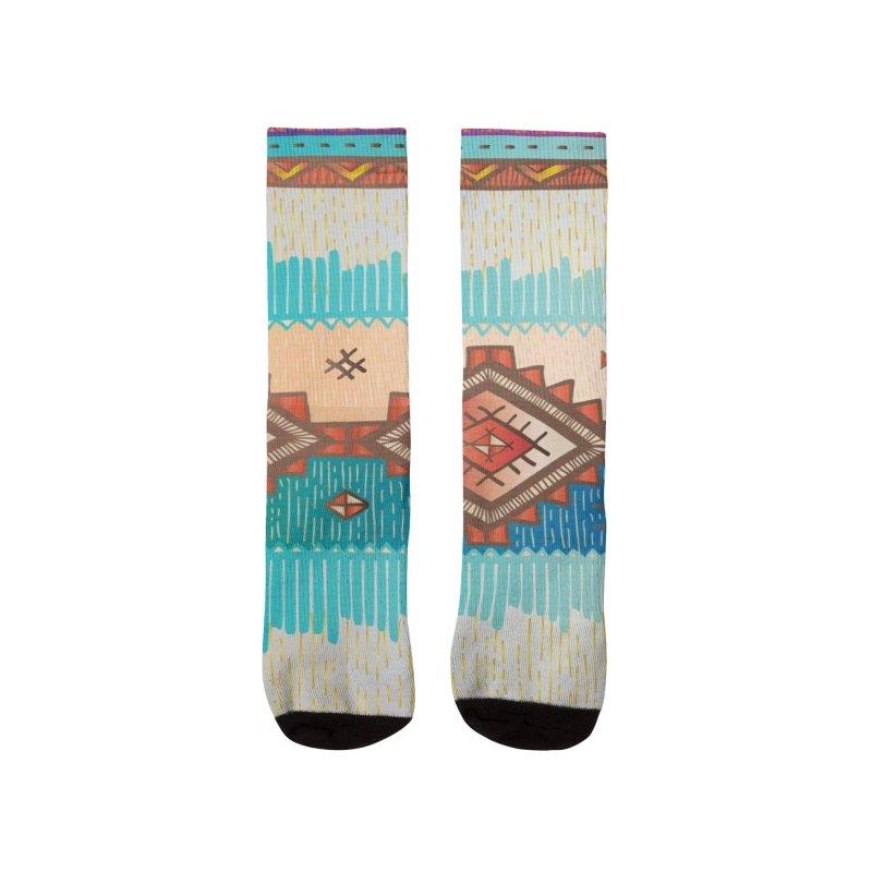 "The colors continent ""ÁFRICA"" Men's Socks by nomadfullprints Artist Shop"