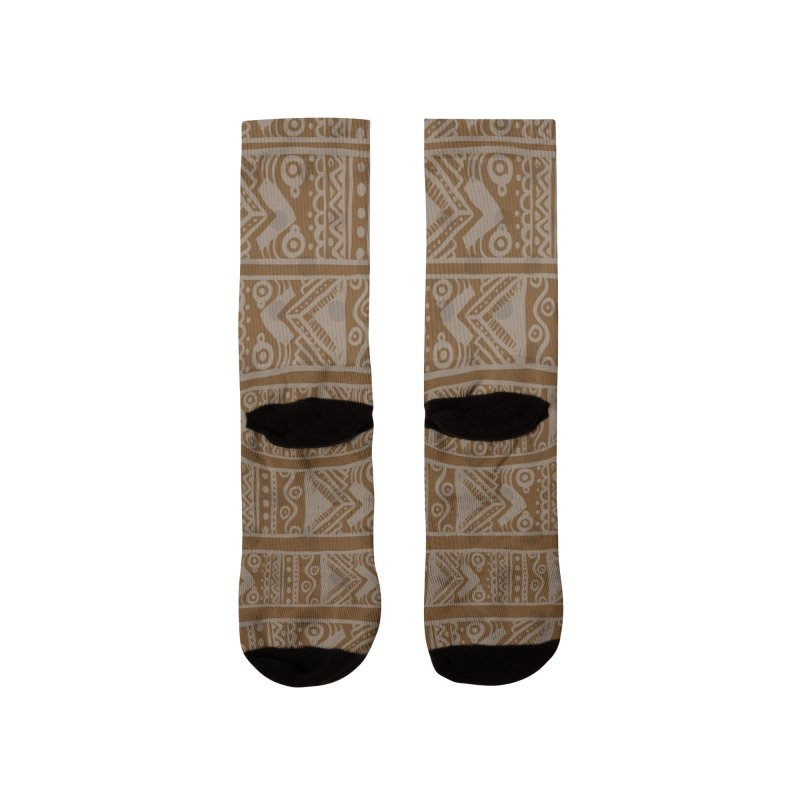 Patron Etnico África Women's Socks by nomadfullprints Artist Shop