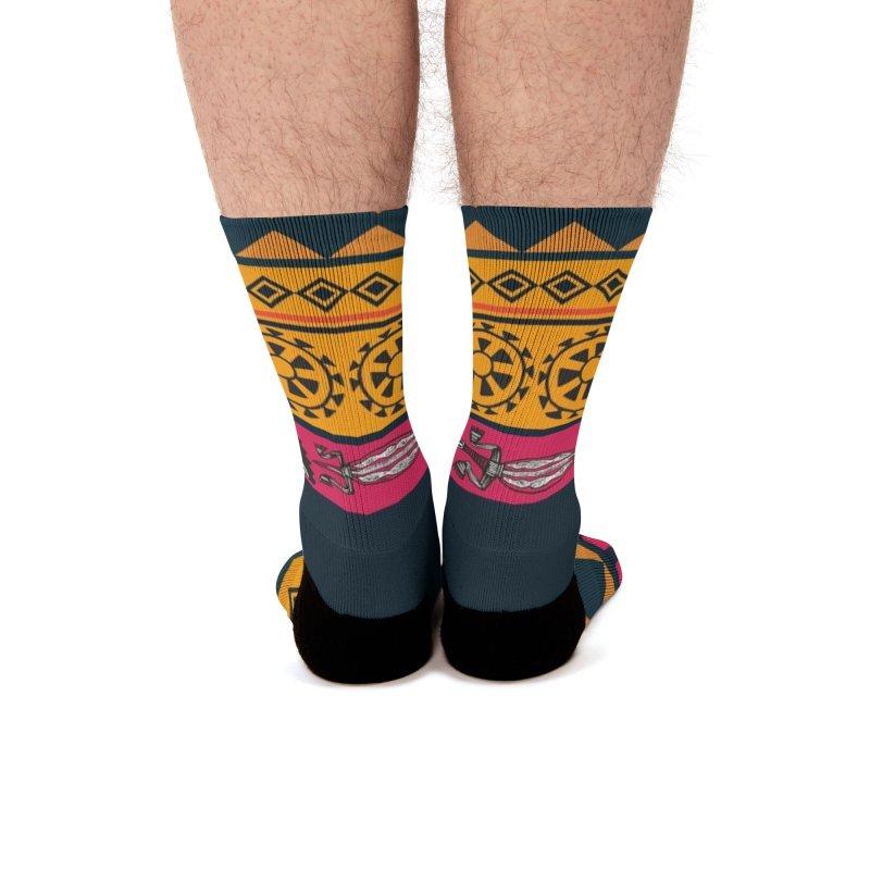 Colors of África Men's Socks by nomadfullprints Artist Shop