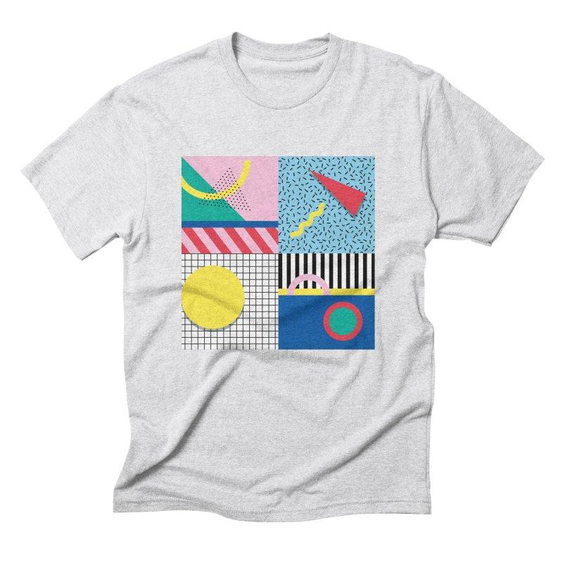 Memphis party Men's T-Shirt by Nomad Unicorn