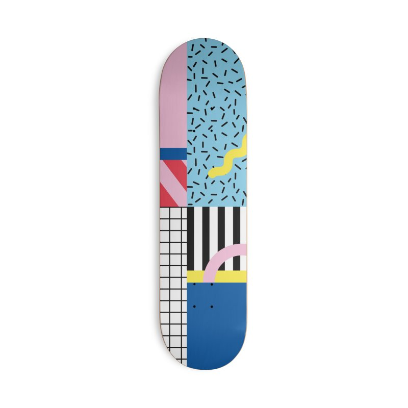 Memphis party Accessories Skateboard by Nomad Unicorn
