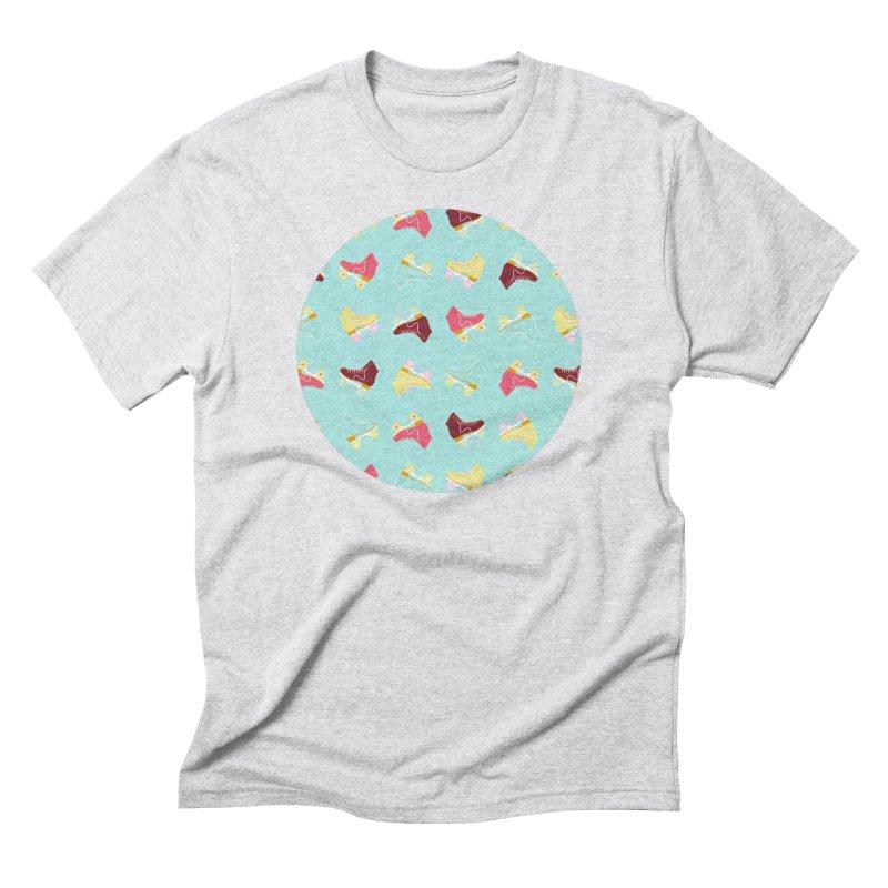 Roller skate love Men's T-Shirt by Nomad Unicorn