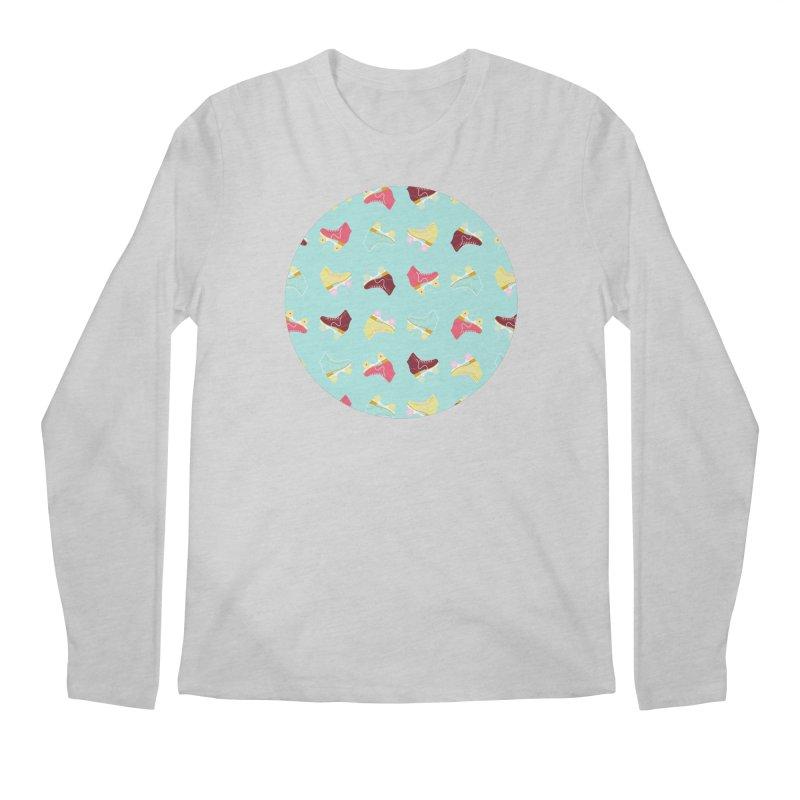 Roller skate love Men's Longsleeve T-Shirt by Nomad Unicorn