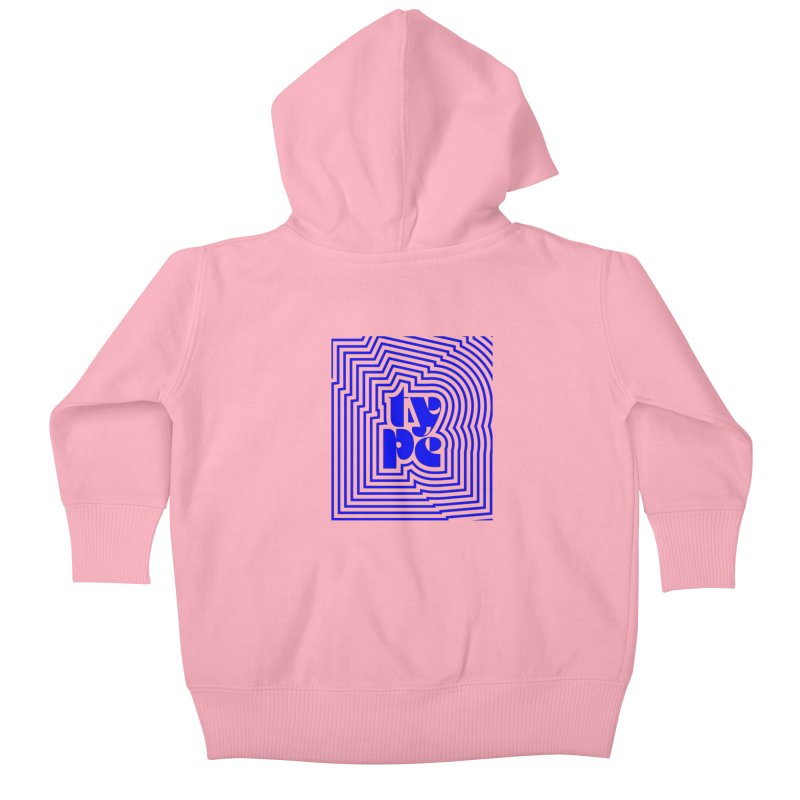 Type junkie Kids Baby Zip-Up Hoody by Nomad Unicorn