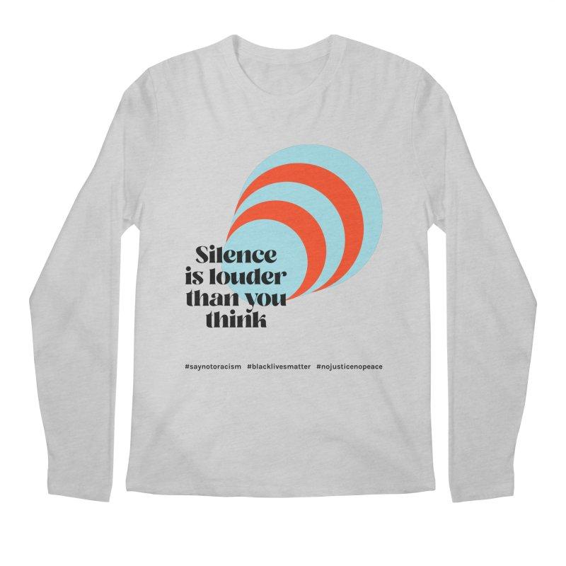Black Lives Matter   02 Men's Longsleeve T-Shirt by Nomad Unicorn