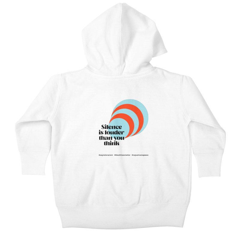 Black Lives Matter | 02 Kids Baby Zip-Up Hoody by Nomad Unicorn