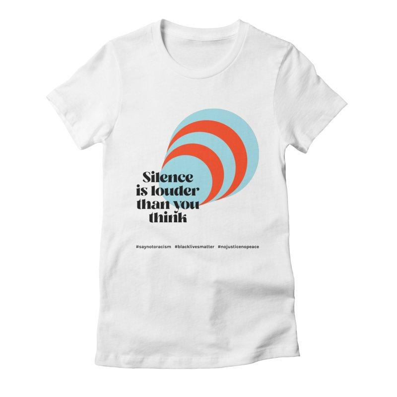 Black Lives Matter   02 Women's T-Shirt by Nomad Unicorn