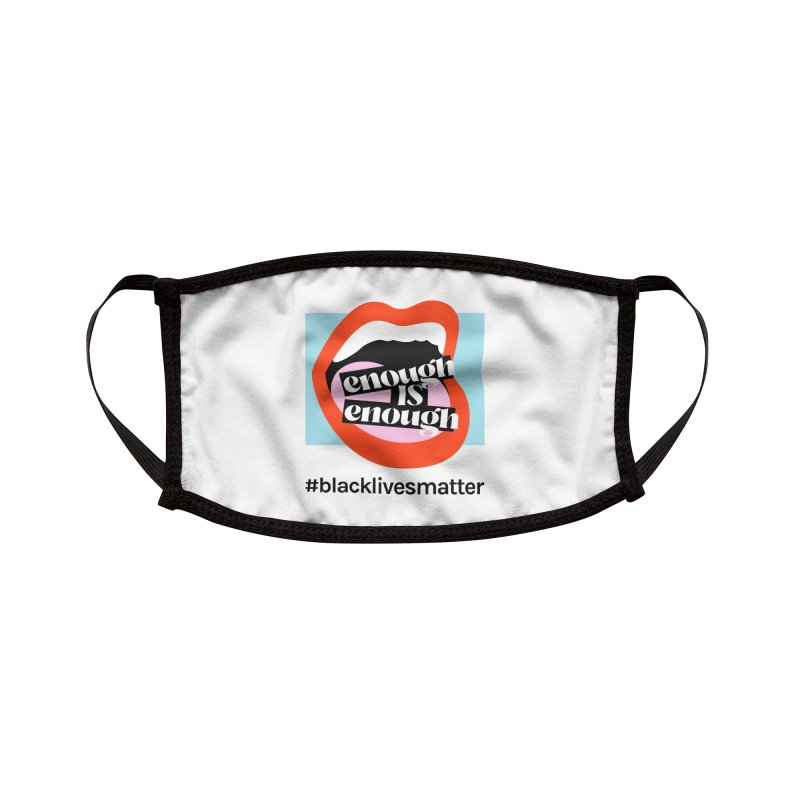 Black Lives Matter   04 Accessories Face Mask by Nomad Unicorn