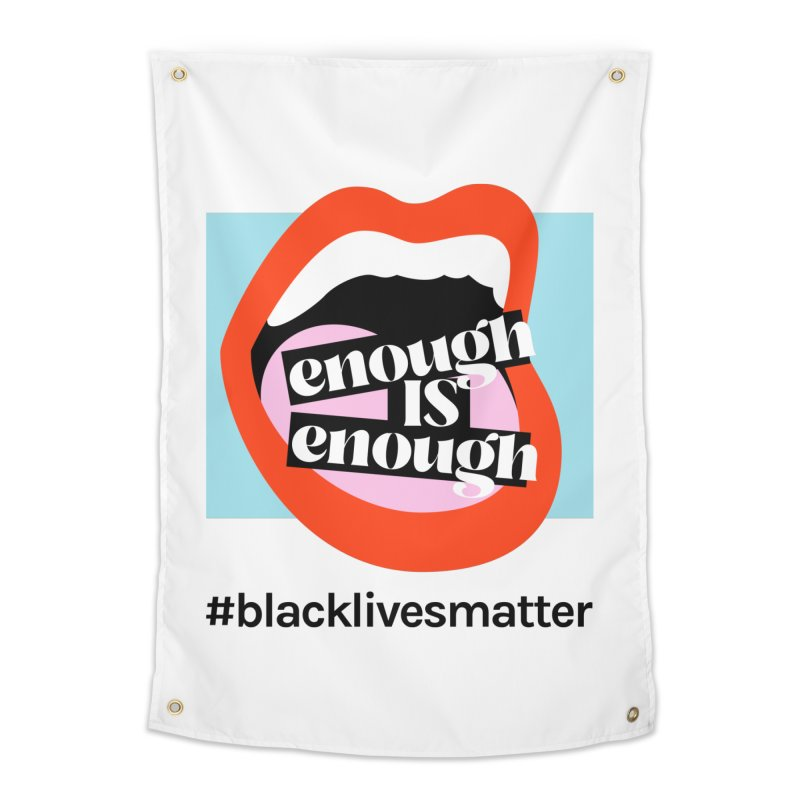 Black Lives Matter | 04 Home Tapestry by Nomad Unicorn