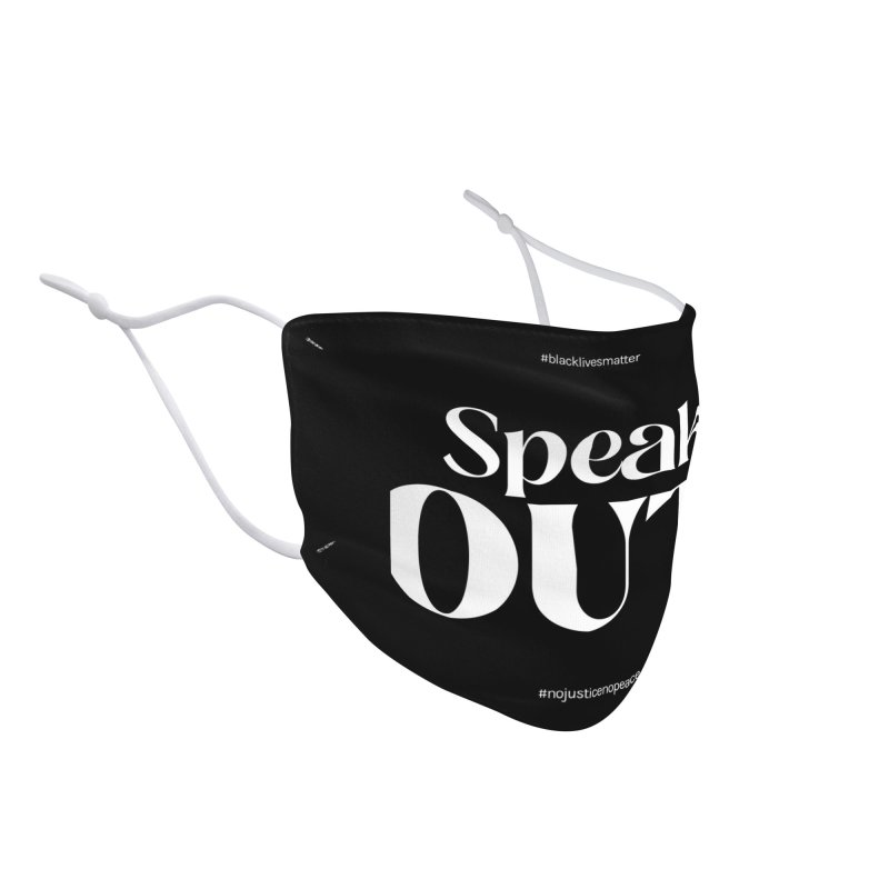 Black Lives Matter | 05 Accessories Face Mask by Nomad Unicorn