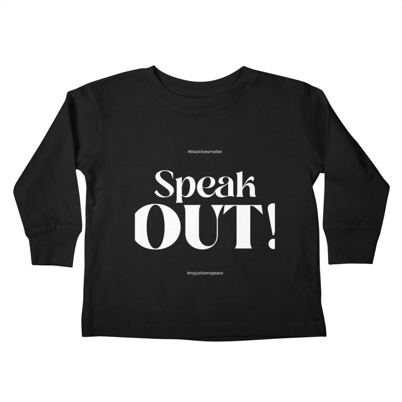 Black Lives Matter   05 Kids Toddler Longsleeve T-Shirt by Nomad Unicorn
