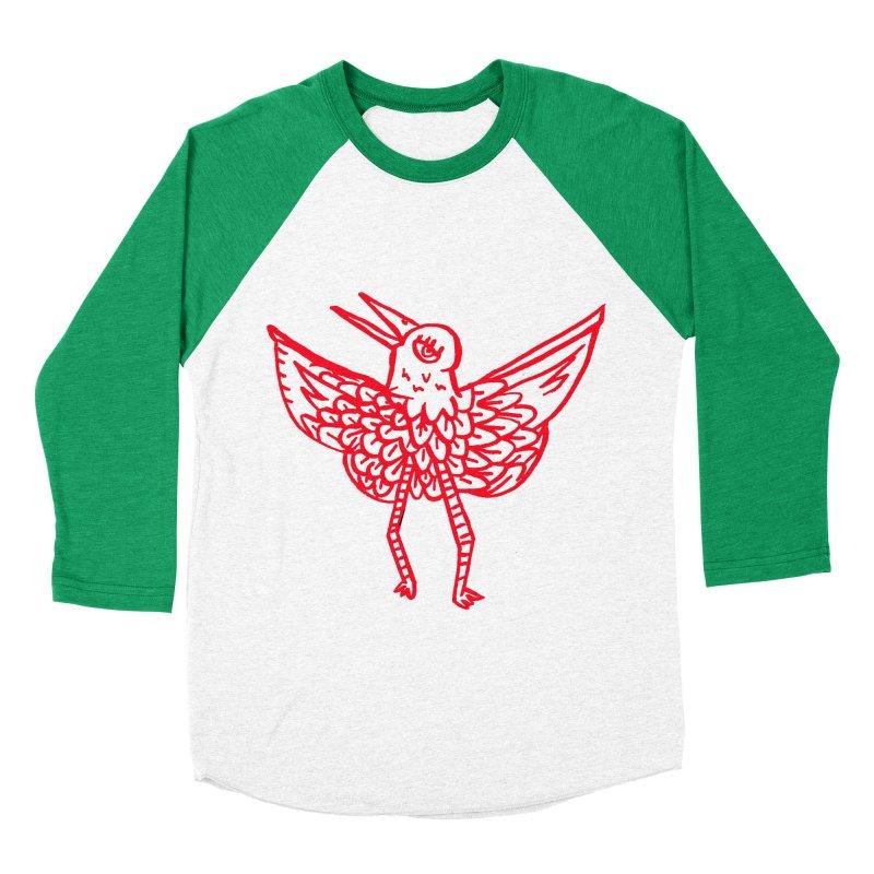 Bird-ing Women's Baseball Triblend T-Shirt by nomasprint's Artist Shop