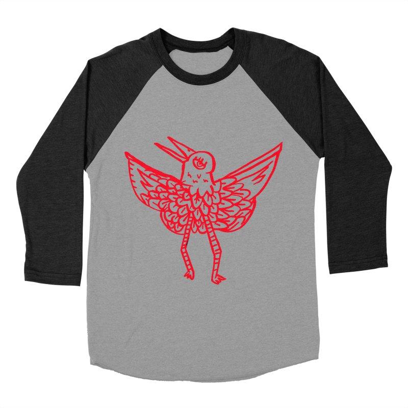 Bird-ing Men's Baseball Triblend T-Shirt by nomasprint's Artist Shop