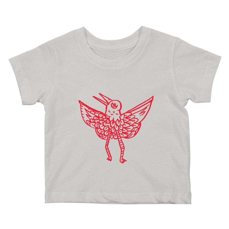 Bird-ing Kids Baby T-Shirt by nomasprint's Artist Shop