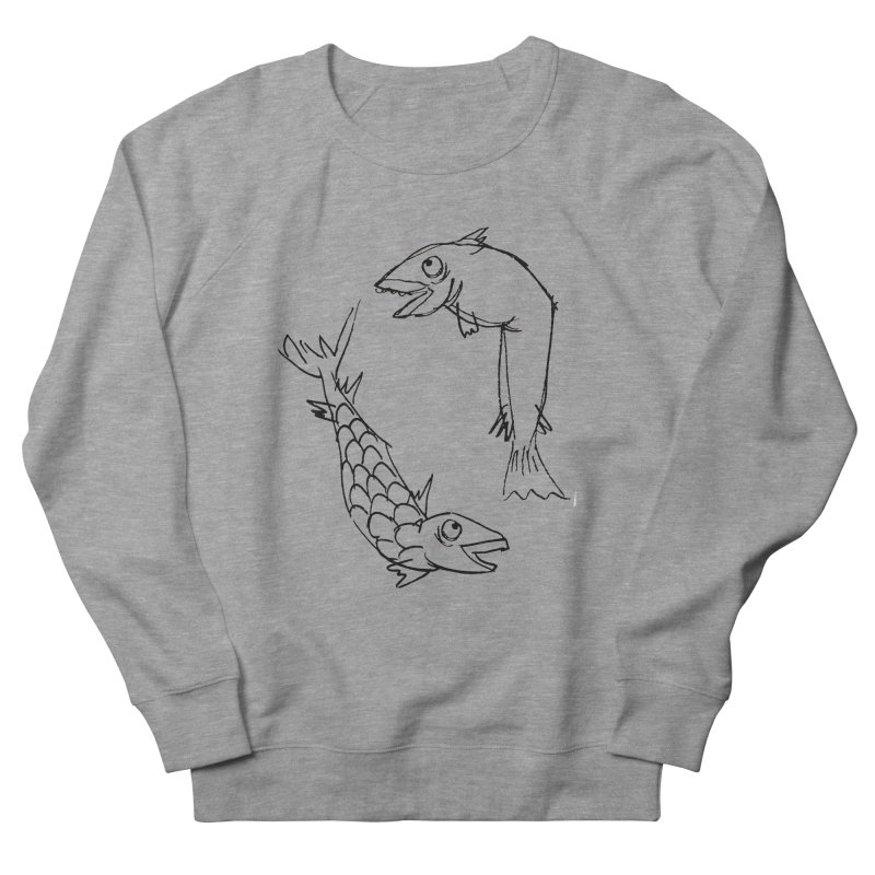 Fish-ing Men's Sweatshirt by nomasprint's Artist Shop