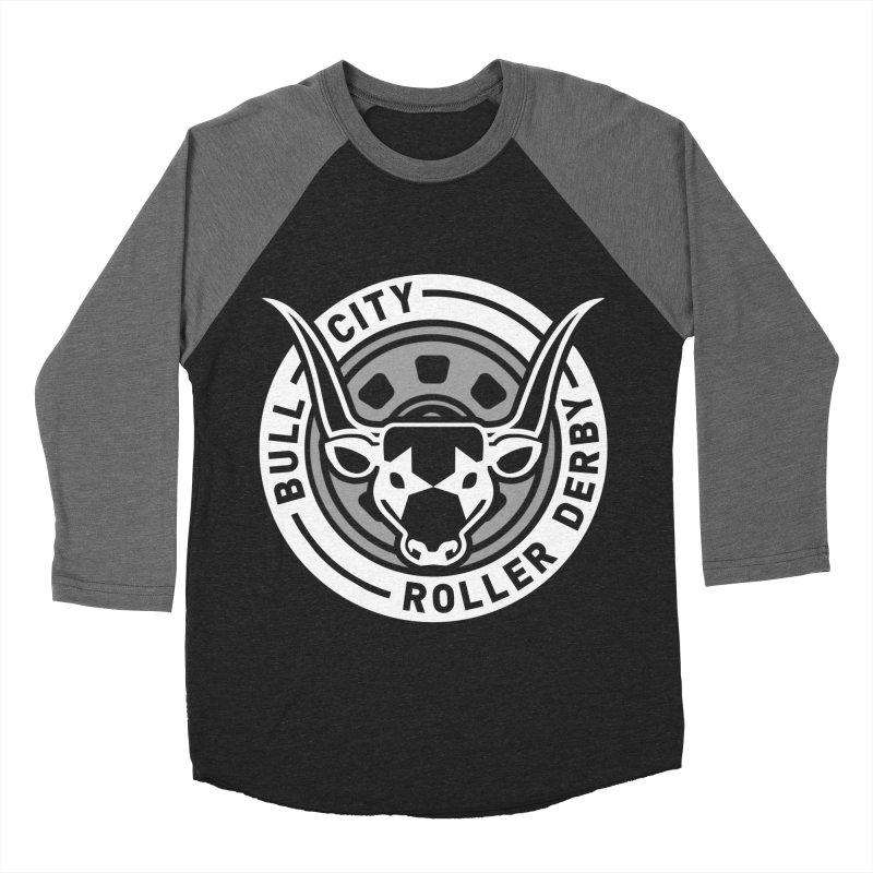 Wheel Badge Women's Longsleeve T-Shirt by Bull City Roller Derby Shop