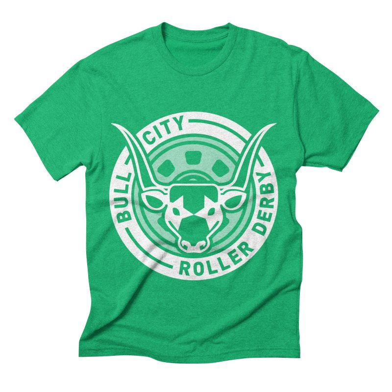 Wheel Badge Men's Triblend T-shirt by nonnahsonic's Artist Shop