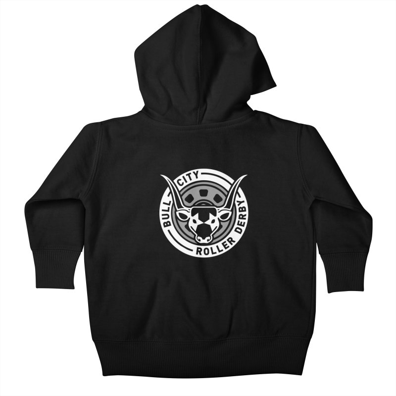 Wheel Badge Kids Baby Zip-Up Hoody by nonnahsonic's Artist Shop