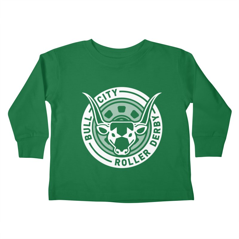 Wheel Badge Kids Toddler Longsleeve T-Shirt by nonnahsonic's Artist Shop