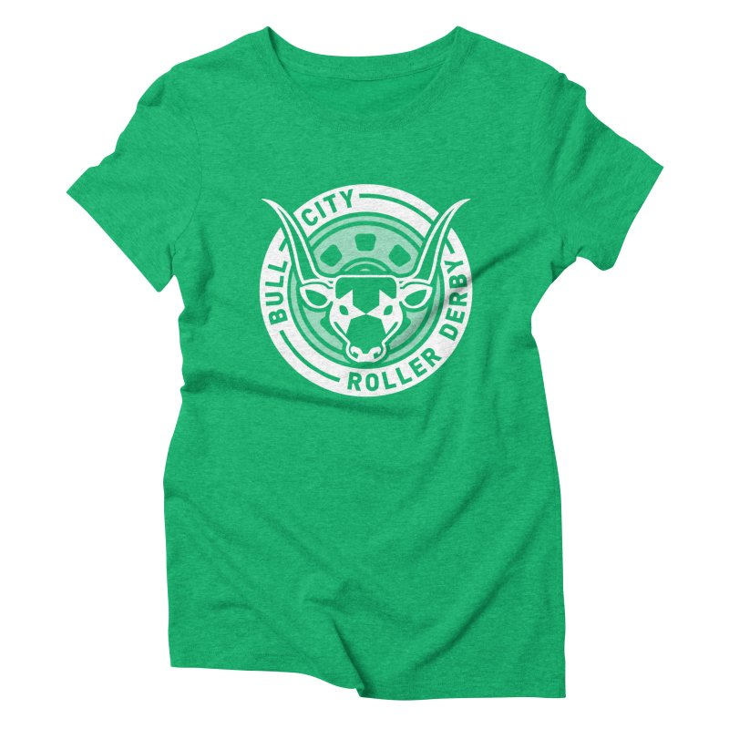 Wheel Badge Women's Triblend T-Shirt by nonnahsonic's Artist Shop