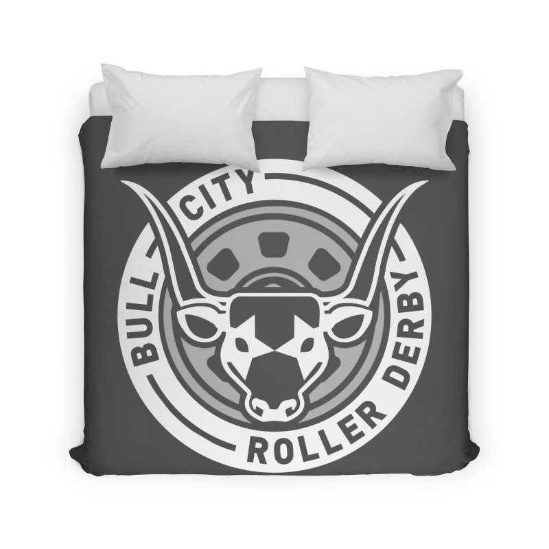 Wheel Badge Home Duvet by nonnahsonic's Artist Shop