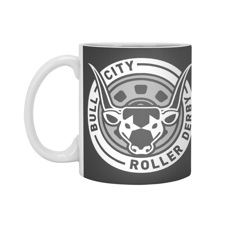 Wheel Badge Accessories Mug by Bull City Roller Derby Shop