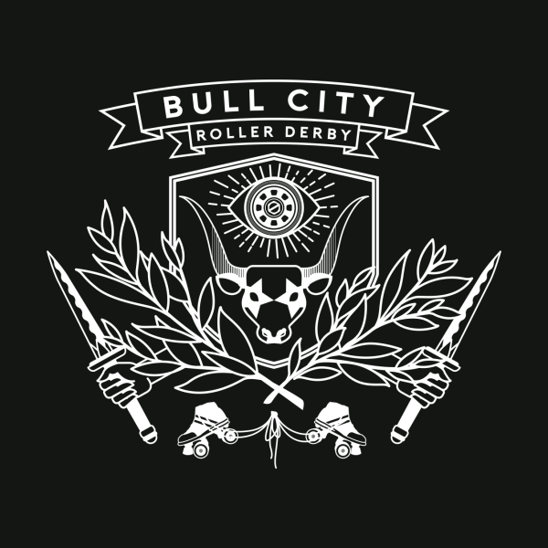 Design for Bull City Roller Derby