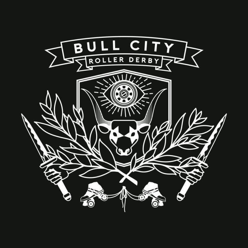 Bull City Roller Derby Men's T-Shirt by Bull City Roller Derby Shop