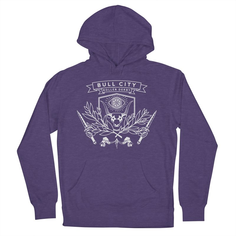 Bull City Roller Derby Women's French Terry Pullover Hoody by Bull City Roller Derby Shop