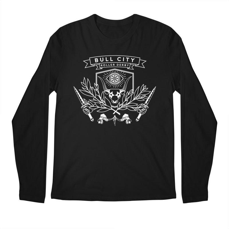 Bull City Roller Derby Men's Longsleeve T-Shirt by nonnahsonic's Artist Shop
