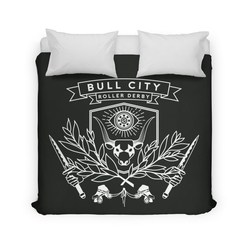 Bull City Roller Derby Home Duvet by Bull City Roller Derby Shop
