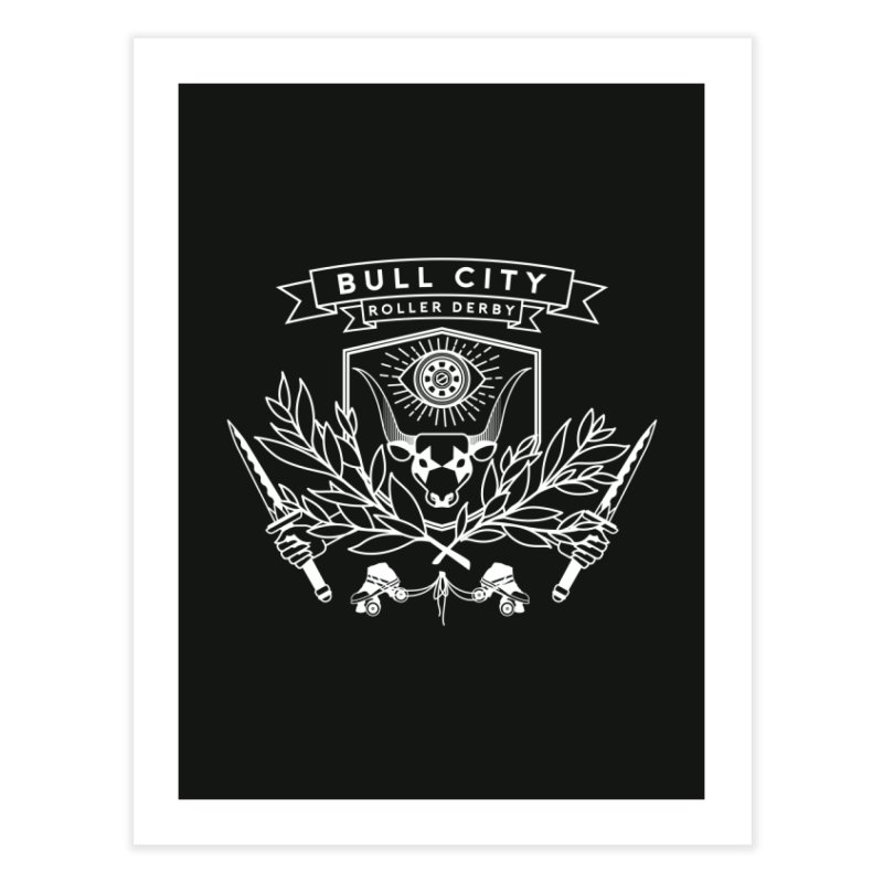 Bull City Roller Derby Home Fine Art Print by Bull City Roller Derby Shop