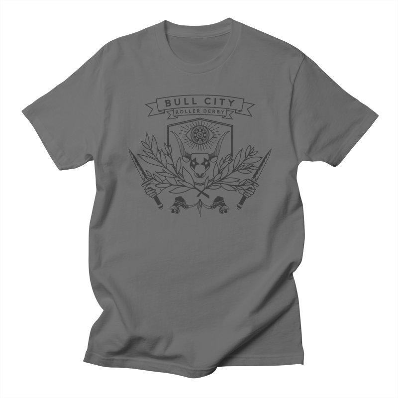 Bull City Roller Derby- Reverse Women's Unisex T-Shirt by nonnahsonic's Artist Shop