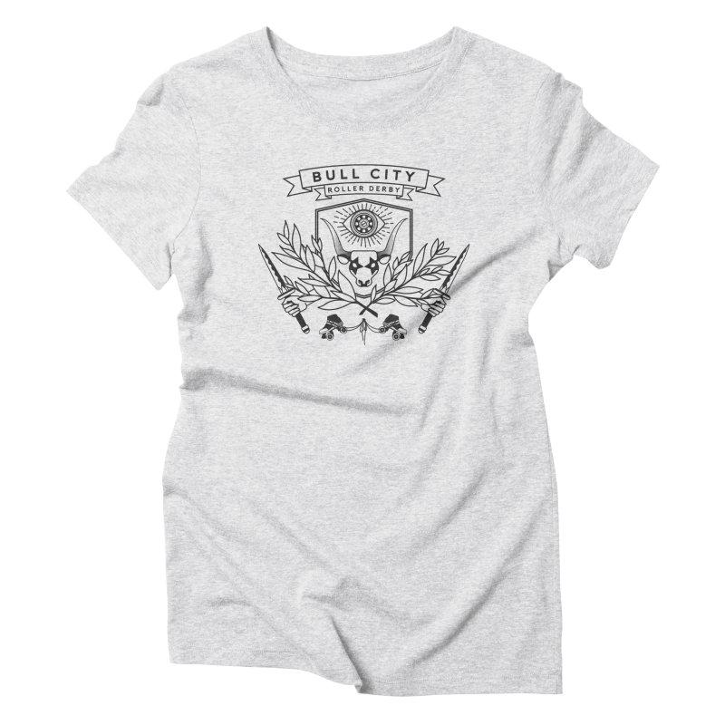 Bull City Roller Derby- Reverse Women's T-Shirt by Bull City Roller Derby Shop