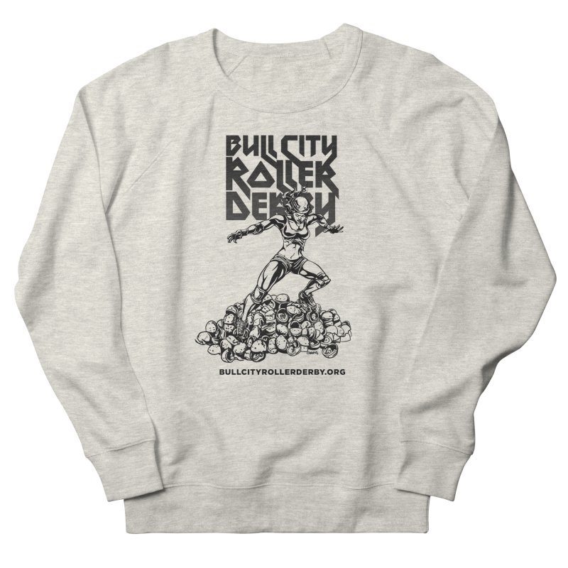 Bull City- HEAVY METAL Women's Sweatshirt by Bull City Roller Derby Shop