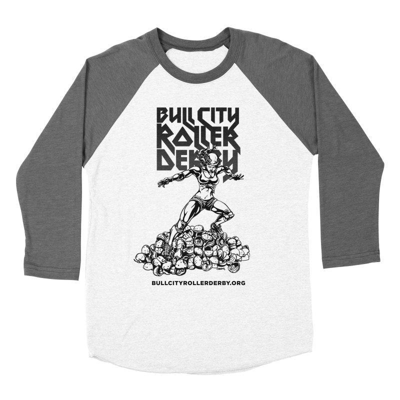 Bull City- HEAVY METAL Women's Longsleeve T-Shirt by Bull City Roller Derby Shop