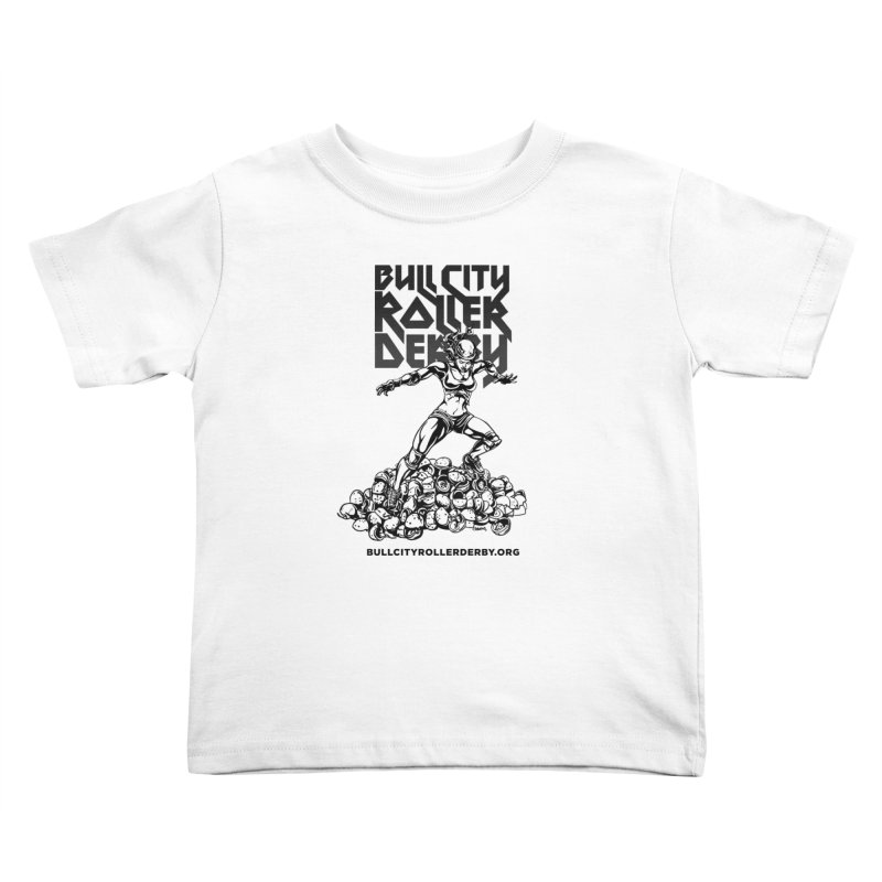 Bull City- HEAVY METAL Kids Toddler T-Shirt by nonnahsonic's Artist Shop