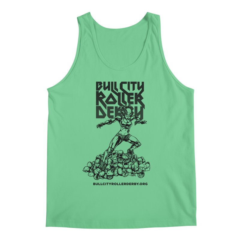 Bull City- HEAVY METAL Men's Regular Tank by Bull City Roller Derby Shop