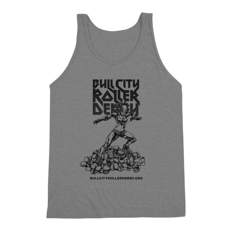 Bull City- HEAVY METAL Men's Tank by Bull City Roller Derby Shop