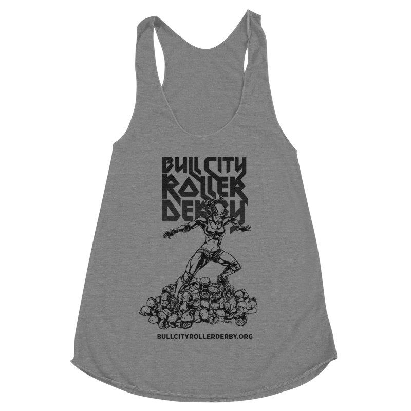 Bull City- HEAVY METAL Women's Tank by Bull City Roller Derby Shop